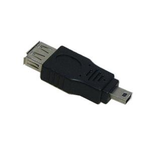 miniUSB(オス)-USB(メス)変換アダプタ|vshopu