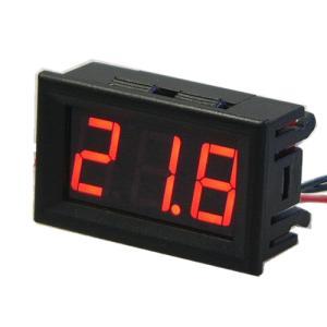 デジタルLED温度計 赤色 電子工作|vshopu