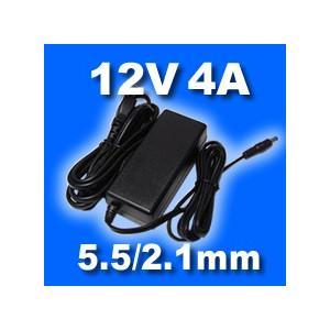 ACアダプター 12V 4A (プラグ:5.5/2.1mm)|vshopu