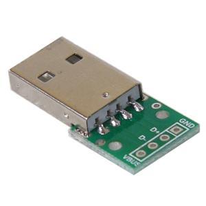 USB オス 変換基板  電子工作|vshopu