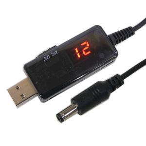 USB DCブースター 9V/12V切替式 デジタル電圧計付き|vshopu