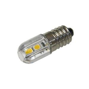 LED豆電球 6V 4SMD 電球色 口金サイズE10 vshopu