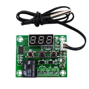 5V駆動 デジタル温度スイッチ -50〜110度 青色LED|vshopu