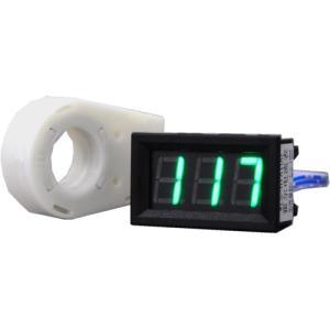 デジタル電圧計&電流計 (DC 120V 100A) 緑色 電流センサー付き 双方向電流計|vshopu