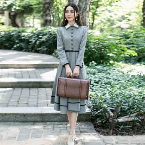商品の説明   英国のお嬢様のように着ているクラシック一品。ワンピース マキシワンピース ロングワン...