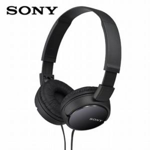 SONY ソニー ステレオ ヘッドホン ヘッドフォン オーバーヘッドホン 有線 高音質 重低音 安い MDR-ZX110 B|vt-web