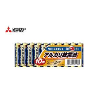 【商品詳細】  ・型番:LR6N/10S ・納得のコストパフォーマンス ・三菱 アルカリ乾電池 単3...