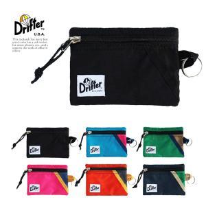 ドリフター キーコインポーチ キーケース 財布 DRIFTER 選べる 6色 メンズ レディース|vt-web