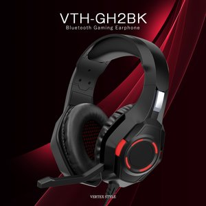 ゲーミングヘッドセット ゲーミングヘッドホン switch PS4 PS5 マイク付き 有線 高音質 重低音 クリア テレワーク VTH-GH2BK VERTEX ヴァーテックス|vt-web
