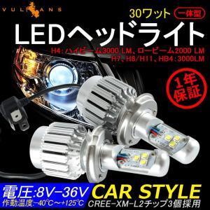 3000LM オールインワン一体型 LEDヘッドライト HB4/9006 CREE製 XM-L2 6000k 12v/24v対応 ヘッドランプ フォグ ランプ ライト フォグランプ 1年保証|vulcans