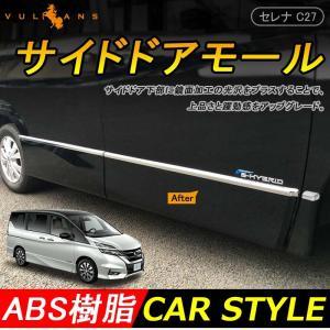 日産 新型 SERENA セレナ C27系 ハイウェイスター 専用 外装 パーツ サイド ドア モー...