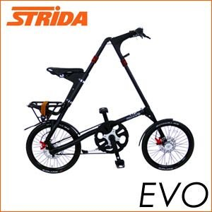 折り畳み自転車 STRIDA ストライダ EVO 18インチ MATT BLACK 折りたたみ自転車