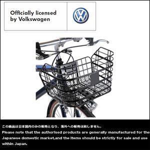 Volkswagen(フォルクスワーゲン) VW-7006S&SW用 角型ワイヤーバスケット 自転車用かご ブラック|vvv