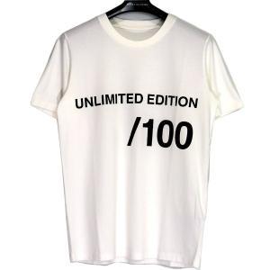 MM6 / MM アンリミテッドエディションTシャツ エムエム6 メゾン マルジェラ ホワイト メン...