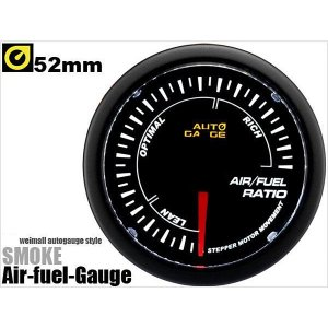 空燃比計 オートゲージ 52Φ 日本製モーター 348 精度誤差約±1%の正確な追加メーター (クーポン配布中)|w-class