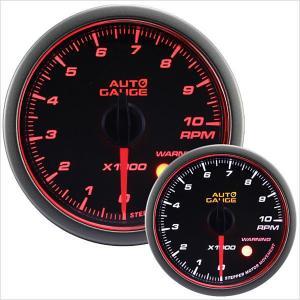 タコメーター オートゲージ 60Φ 日本製モーター Aリング 458 精度誤差約±1%の正確な追加メーター (クーポン配布中)|w-class