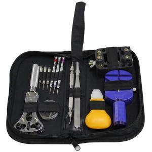 時計修理工具 13点セット 時計工具セット 時計用工具 ソフトケース付