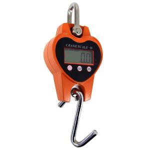クレーンスケール 充電式 デジタル 吊秤 吊りはかり 0.3t(300kg)小型