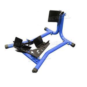 バイク メンテナンススタンド バイクリフト バイクスタンド メンテナンス用 フロント専用 青 w-class
