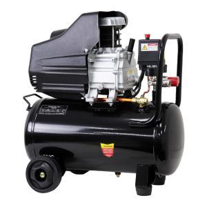 エアーコンプレッサー 25L 最高圧力0.8Mpa 100V オイル式 過圧力自動停止機能 エアーツ...