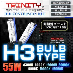 HIDコンバージョンキット H3 バルブ 55W ケルビン選択 1年保証付  超薄型 バラスト フォグランプ 2本セット (クーポン配布中) w-class