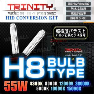 HIDコンバージョンキット H8 バルブ 55W ケルビン選択 1年保証付  超薄型 バラスト フォグランプ 2本セット (クーポン配布中) w-class