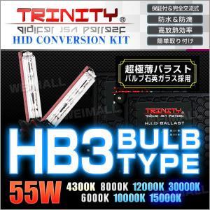 HIDコンバージョンキット HB3 バルブ 55W ケルビン選択 1年保証付  超薄型 バラスト フォグランプ 2本セット (クーポン配布中) w-class
