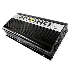 修正波 電源インバーター 定格2000W DC12V AC1...