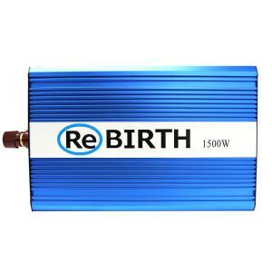 災害 インバーター バッテリー ポータブル電源 非常用電源 24V 100V 正弦波インバーター  定格 1500W 最大 3000W AC100V 50Hz/60Hz切替 トラック|w-class