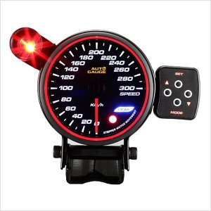 スピードメーター オートゲージ 80Φ 日本製モーター コントロールBOX F50 (クーポン配布中)|w-class