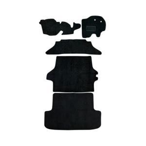 トヨタ ハイエース 200系 車用 フロアマット floormat カーマット 車内用マットセット  5Pセット 黒 TOYOTA HiAce|w-class