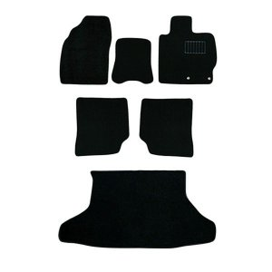 トヨタ プリウス 30系 車用 フロアマット floormat カーマット 車内用マット  6P 黒 TOYOTA Prius|w-class