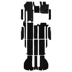 ヴェルファイア アルファード 30系フロアマット floormat カーマット 車内用マット  AGH30W AGH35W GGH30W GGH35W AYH30W 7人用 助手席ロングスライド|w-class