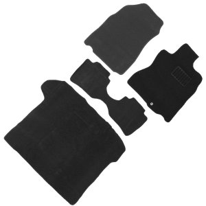 日産 NV150 ADバン フロアマット floormat カーマット 車内用マットセット  ADエキスパート VY12系 マツダ  ファミリアバン Y12系 黒 4点セット|w-class