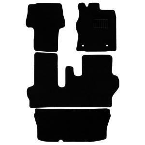 ダイハツ タント タントカスタム フロアマット floormat LA600S LA610S ラゲッジマット カーフロアマット floormat 黒 4点セット|w-class