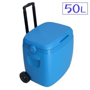 大容量 クーラーボックス 大型 キャスター付 クーラーバッグ 50L クーラーBOX アウトドア キ...