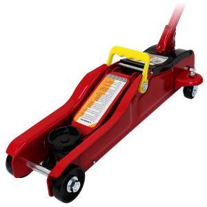 ガレージジャッキ 2t フロアジャッキ 2トン 低床 ローダウン ジャッキ アップ 手動 油圧ジャッキ 最低85mm 予約販売3月上旬入荷予定