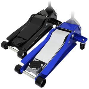 ガレージジャッキ 低床 フロアジャッキ 4t ジャッキ 油圧 低床ジャッキ デュアルポンプ式 ローダウン車対応 (クーポン配布中)|w-class