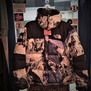 新品未使用品 2017AW SUPREME×THE NORTH FACE Mountain Baltoro Jacket シュプリーム×ザ・ノースフェイス バルトロジャケット MOUNTAIN柄 雪山 ダウン Size.M|w-crime|02