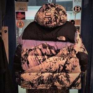 新品未使用品 2017AW SUPREME×THE NORTH FACE Mountain Baltoro Jacket シュプリーム×ザ・ノースフェイス バルトロジャケット MOUNTAIN柄 雪山 ダウン Size.M|w-crime|03