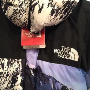 新品未使用品 2017AW SUPREME×THE NORTH FACE Mountain Baltoro Jacket シュプリーム×ザ・ノースフェイス バルトロジャケット MOUNTAIN柄 雪山 ダウン Size.M|w-crime|04