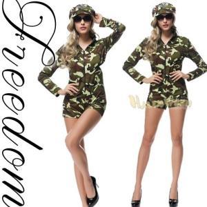 ffe358c93d167 激安 セール ハロウィン ポリス 婦人警官 コスプレ 衣装 長袖ショーパン連体スタイルのアーミーポリスコスチューム