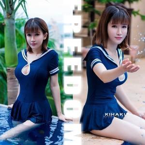 471921b46aad1 セール sale セーラー 水着 ビキニ コスプレ 衣装 セクシーコス セーラーワンピ&ショーツのキュートスクール ...