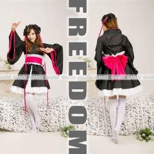 コスプレ 衣装 セクシーコス 制服 ハロウィン 大人気の「ラブライブ!」風アイドル着物コスチューム セール sale|w-freedom