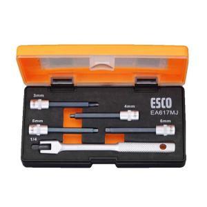ESCO エスコ  1/4`sq レスキューヘキサゴンビットソケット EA617MJ 工具