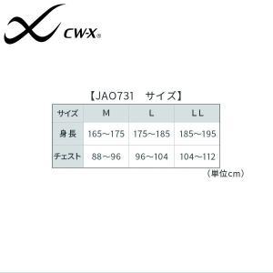 【A】ワコール CWX メンズ ジュウリュウ ホットタイプ ハイネック ロングスリーブシャツ (M L LLサイズ) JAO731 [m_a] w-liberty-h 05