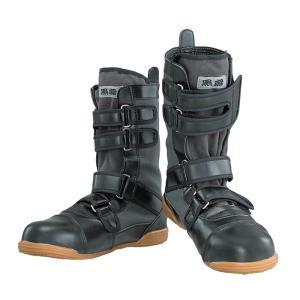 安全靴 作業靴 J-WORK 安全シューズ 黒鳶(先丸) [JW-685] 24〜28、29、30cm 高所用 おたふく手袋 お取寄せ w-shokai