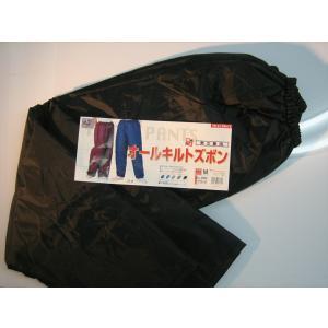 ヤッケ 雨具 レインウェア 3800 オールキルトヤッケズボン サイズ:4L 喜多 作業服・作業着・防寒服・防寒・防寒グッズ お取寄せ|w-shokai
