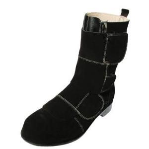 安全靴 作業靴 セーフティシューズ 溶接プロ WD-700(23.5cm〜28.0cm) 溶接 炉前作業用 ノサックス(Nosacks) お取寄せ|w-shokai