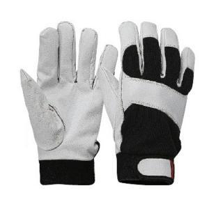 おたふく手袋 革手 豚クレスト甲メリ インナーフリース 10個セット JW-868 L 作業服・作業用品・防寒グッズ・防寒手袋 お取寄せ|w-shokai